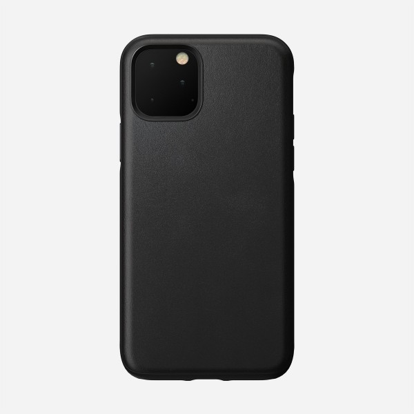 Nomad - Leather Case - Rugged - iPhone 11 Pro - Black, NM21W10R00
