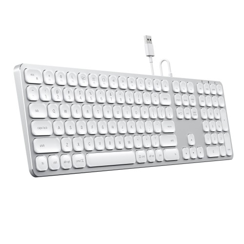 Satechi Wired Keyboard for MacOS - Silver