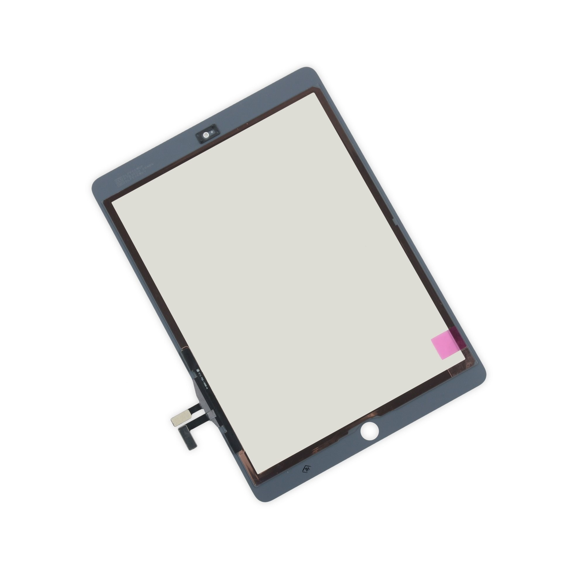 iFixit iPad 5 Front Glass/Digitizer Touch Panel, New, Fix Kit - White, IF128-000-10