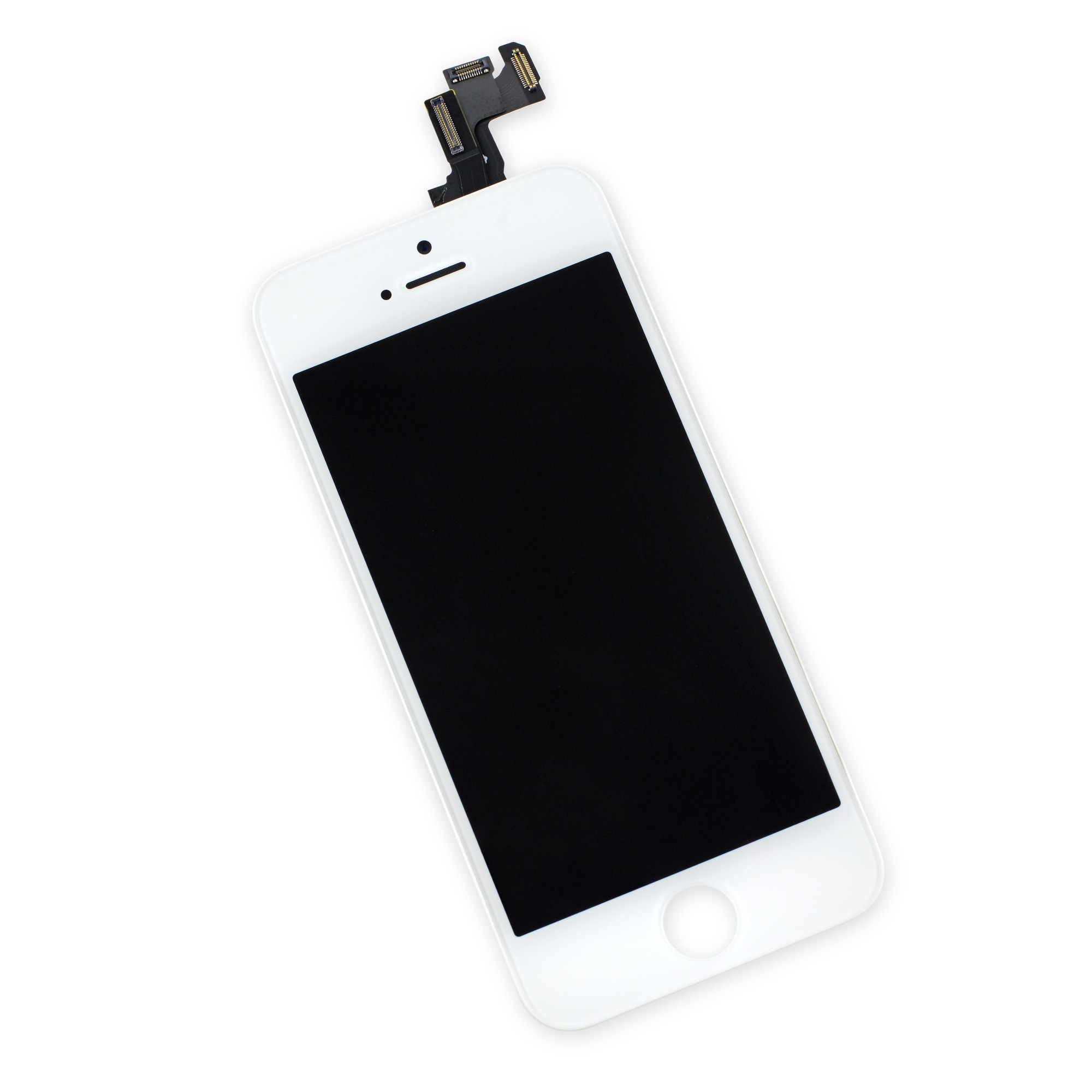 iFixit iPhone 5s LCD Screen and Digitizer Full Assembly, New, Fix Kit - White, IF124-000-12