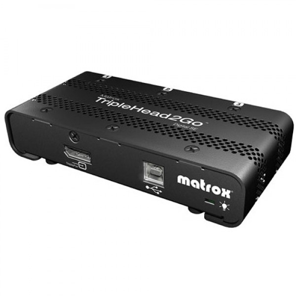 Matrox TripleHead2Go Digital SE External Adapter, MAT2GDP3DIF