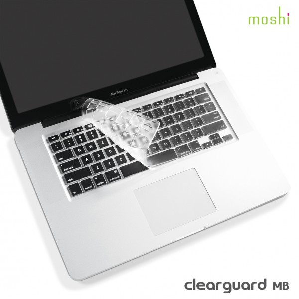 """MOSHI clearguard MB Keyboard Protector for Macbook Pro 13"""", 15"""", 17"""""""