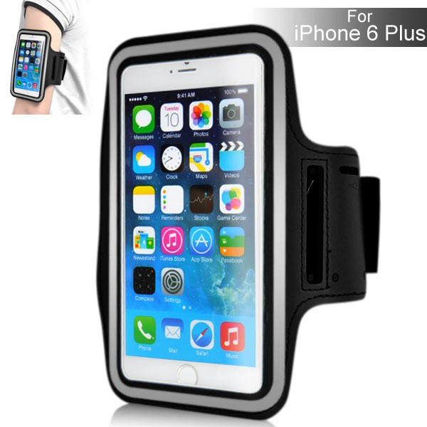 Armband for iPhone 6 Plus 5.5 inch - Black, IPH6+ARM-64840