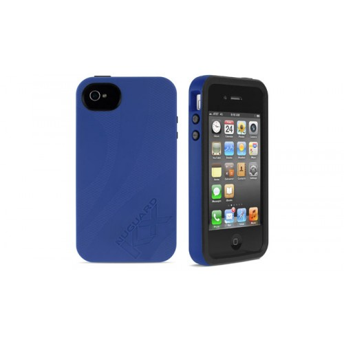Newer Technology NuGuard KX for iPhone 4/4S - Midnight Blue
