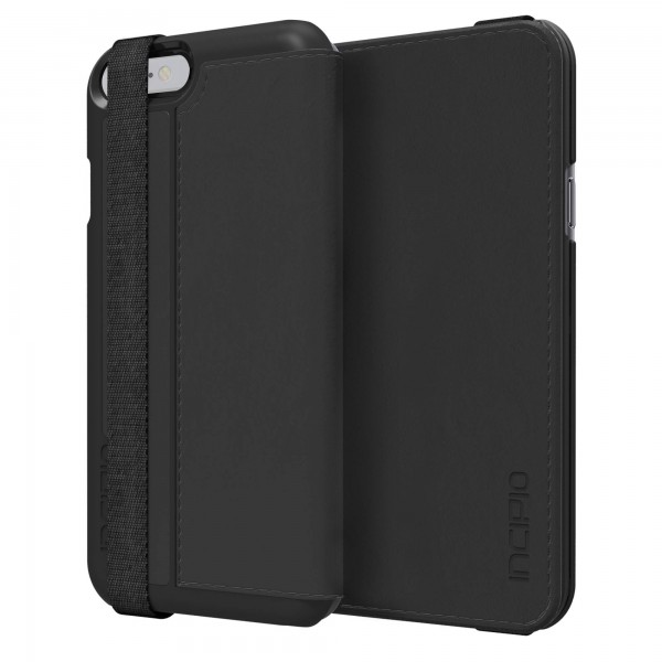 Incipio Watson Wallet Folio with Removable Cover for iPhone 6 (Black) , INIPH1184BLK