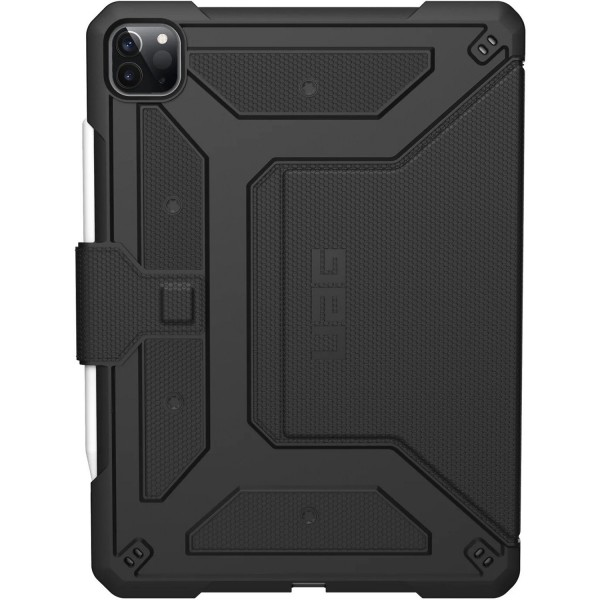 "Urban Armor Gear Metropolis Case for iPad Pro 12.9"" (4th Gen) - Black, 122066114040"