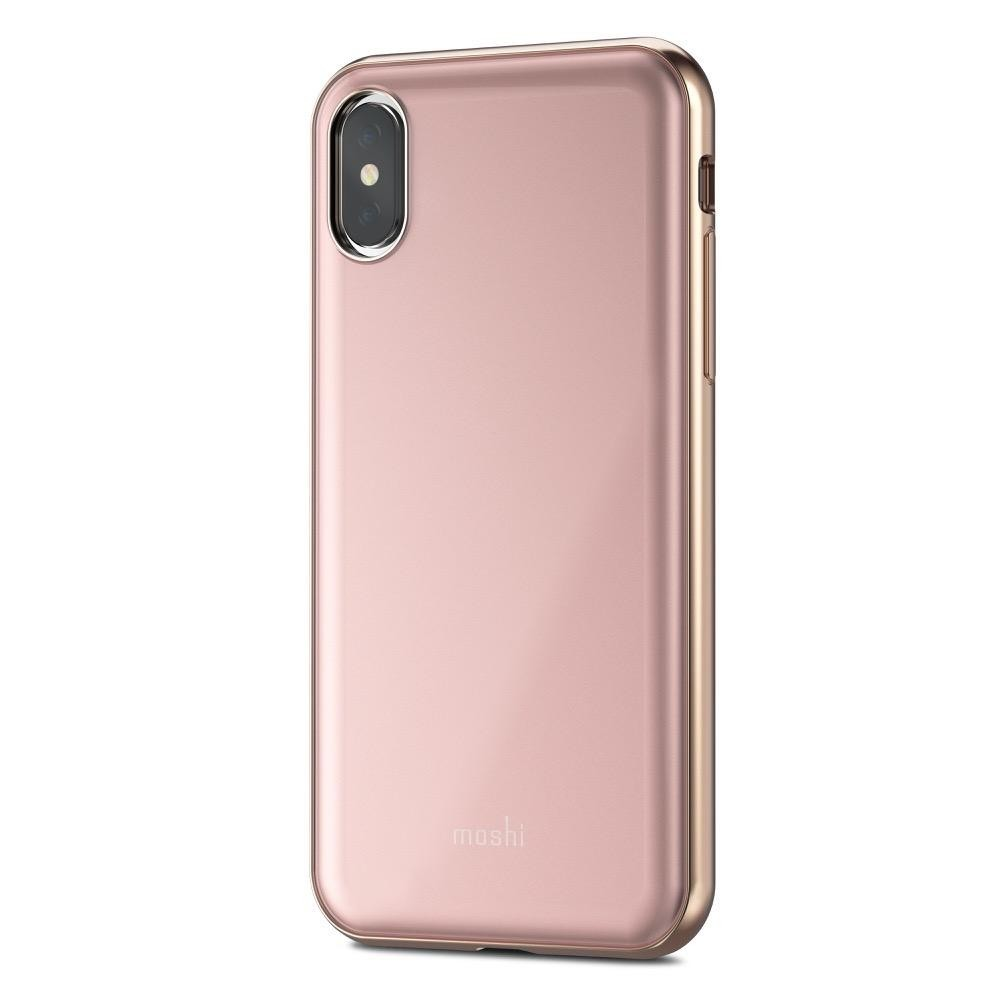 Moshi iGlaze for iPhone X/Xs - Taupe Pink, 99MO101301