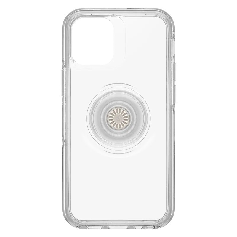 OtterBox Otter+Pop Symmetry Case For iPhone 12 mini - Clear, 77-65760