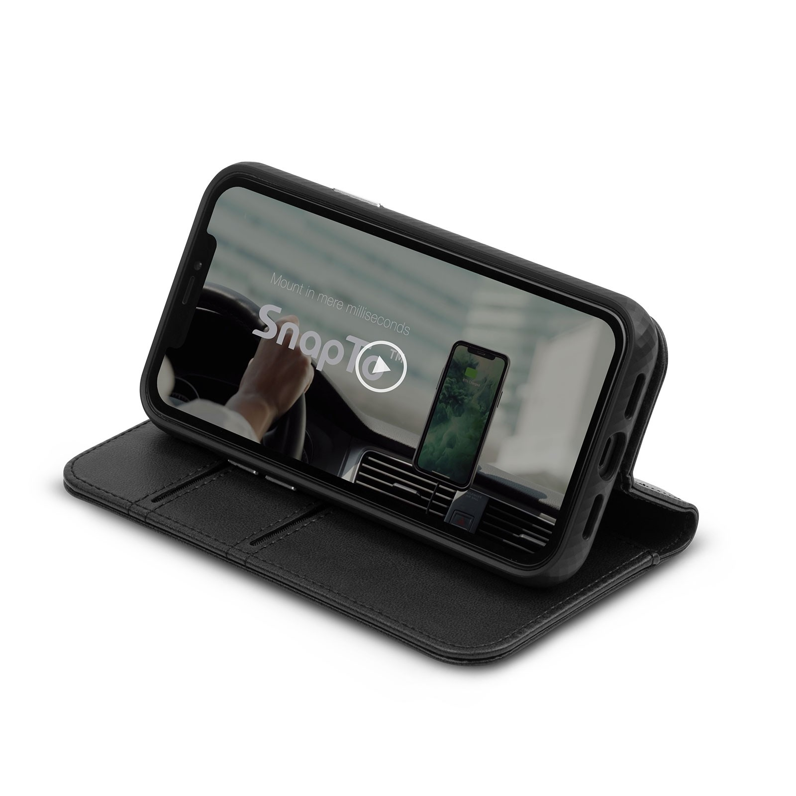 Moshi Overture for iPhone 12 / 12 Pro - Black, 99MO091015