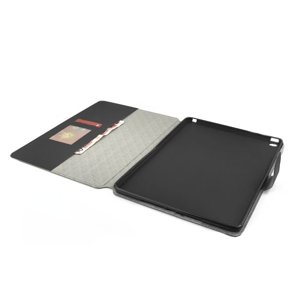 Flip Stand Cover Case with Card Slot for iPad Air 2 - Black, IPD6-FLIP-66353