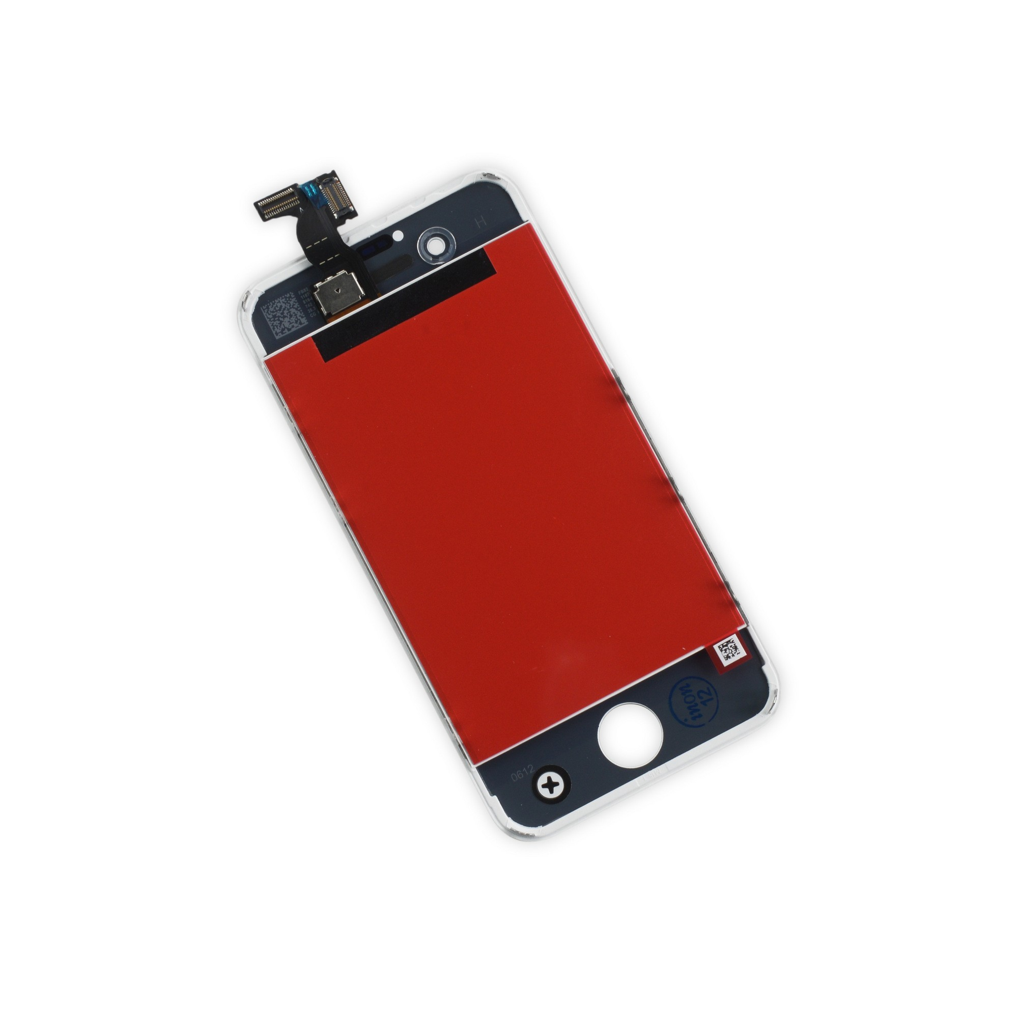 iFixit iPhone 4S LCD Screen and Digitizer, New, Part Only - White, IF115-000-2