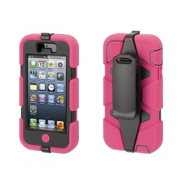 Griffin Survivor Extreme-Duty Case for iPhone 5 - Choose from 6 colours