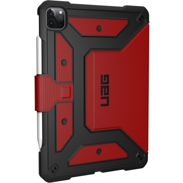 "Urban Armor Gear Metropolis Case for iPad Pro 11"" (2nd Gen) - Magma, 122076119494"