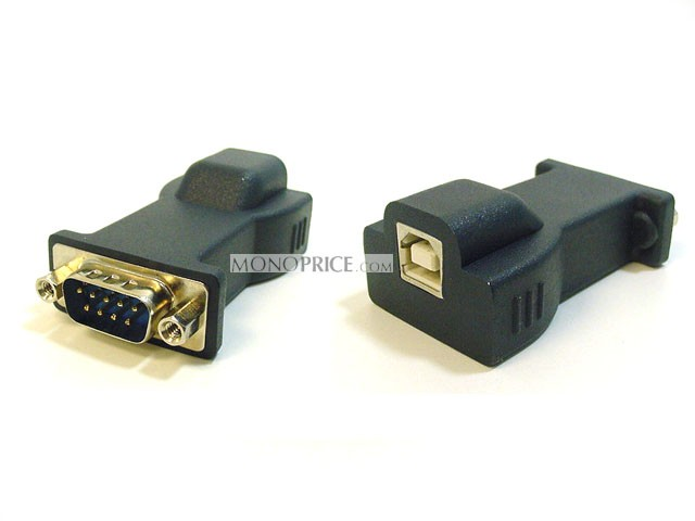 USB to Serial Convert Cable(DB9M/USB B female converter and USB A/B cable), USB-SERIAL-2276