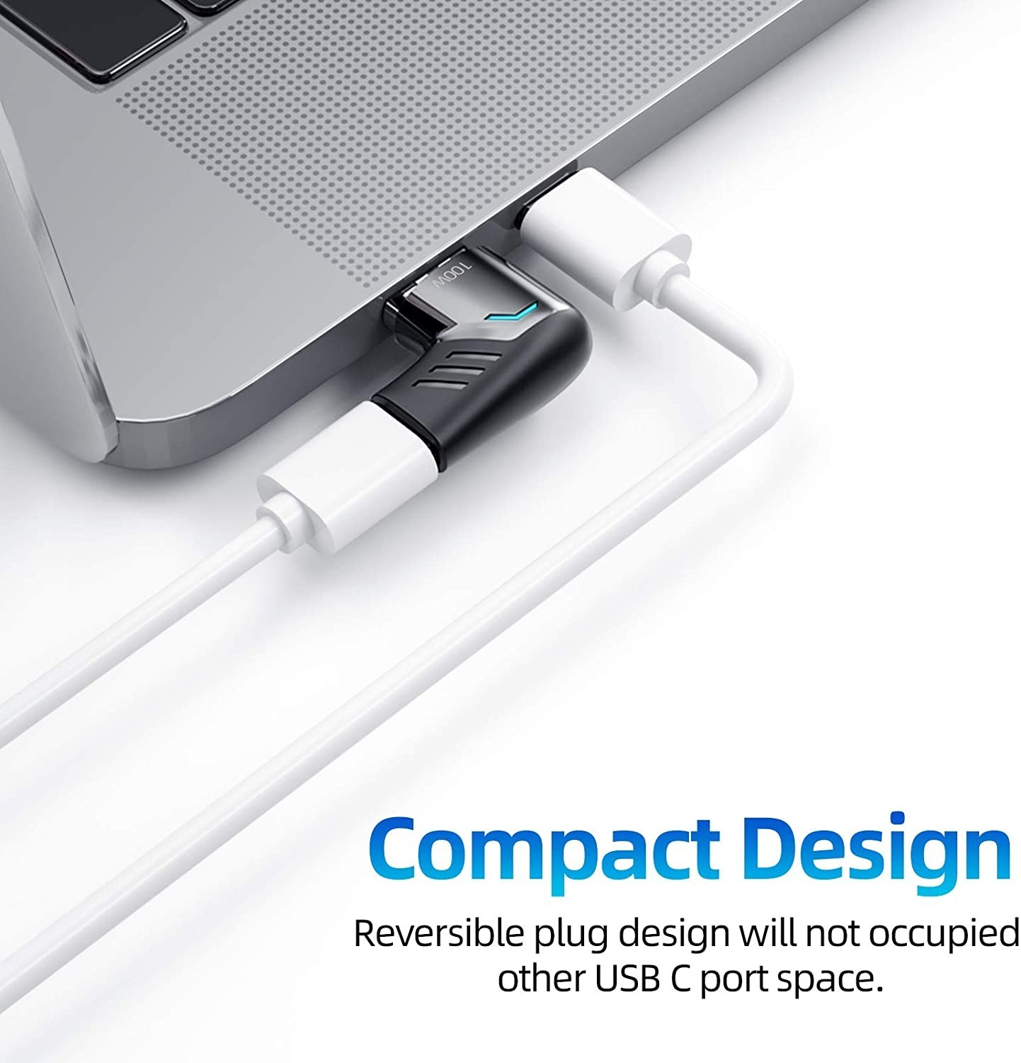USB-C 100W Sync & Charge Magnetic Adapter for USB-C iPad/Laptop/MacBook, B08KZJ3KMR