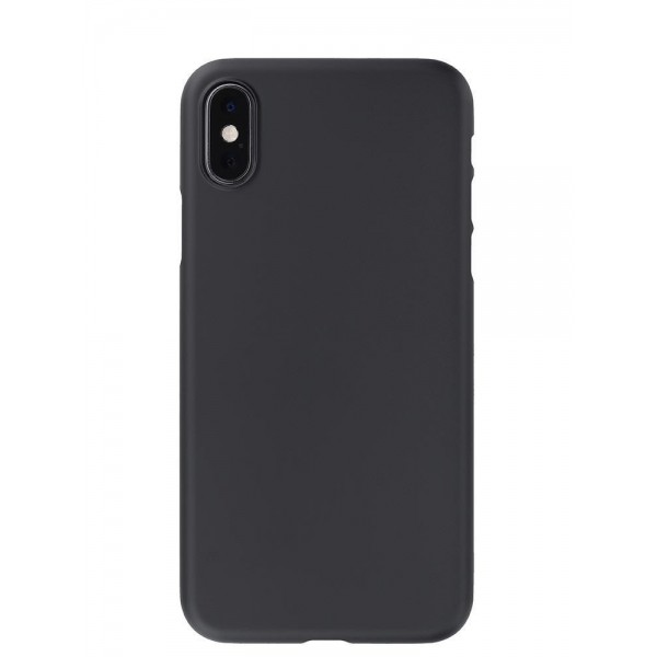 Power Support Air Jacket for iPhone XS - Rubberised Black, PUY-72