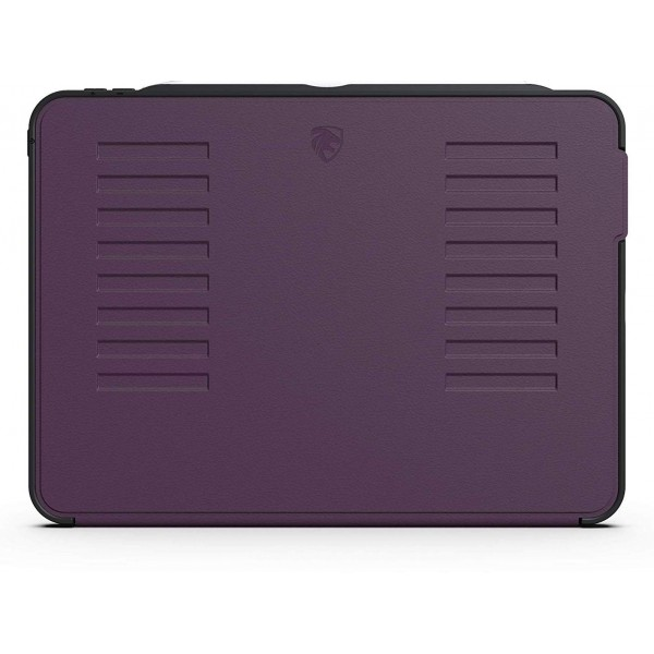ZUGU CASE The Muse Case for 2018 iPad Pro 11 inch - Very Protective But Thin, Convenient Magnetic Stand, Sleep/Wake Cover - Purple, ZG-M-1118P