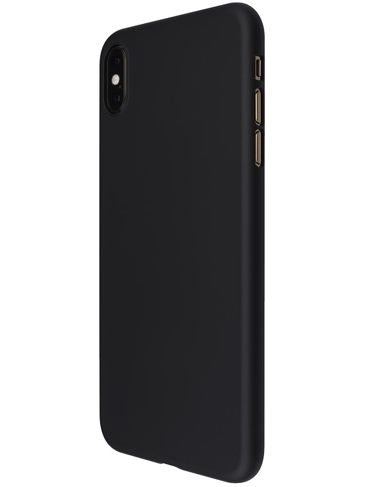 Power Support Air Jacket for iPhone XS Max - Rubber Black, PUC-72