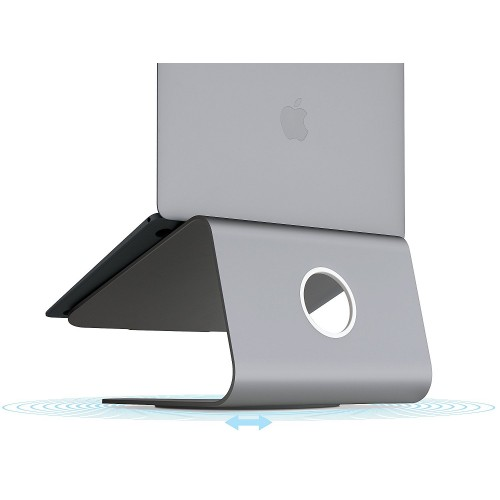 Rain Design mStand360 Laptop Stand with Swivel Base - Space Gray