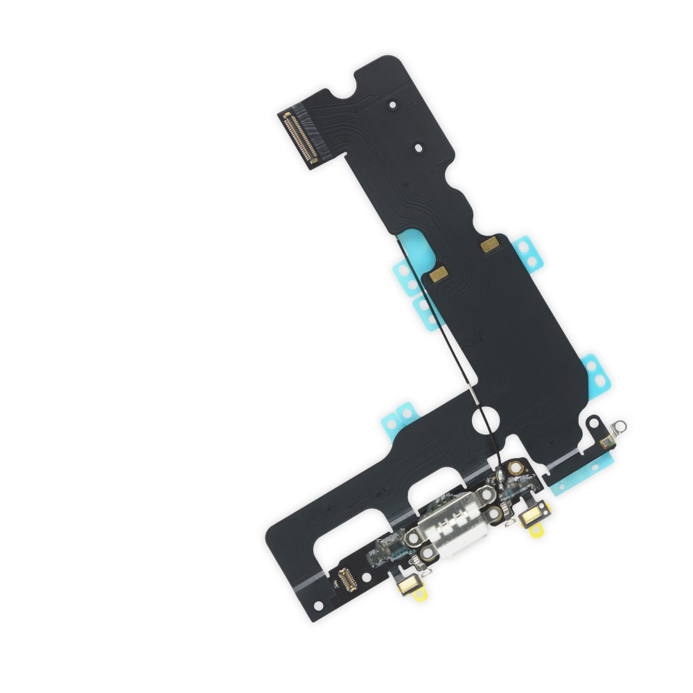 iPhone 7 Plus Lightning Connector Assembly, New, Part Only - White, IF333-004-2