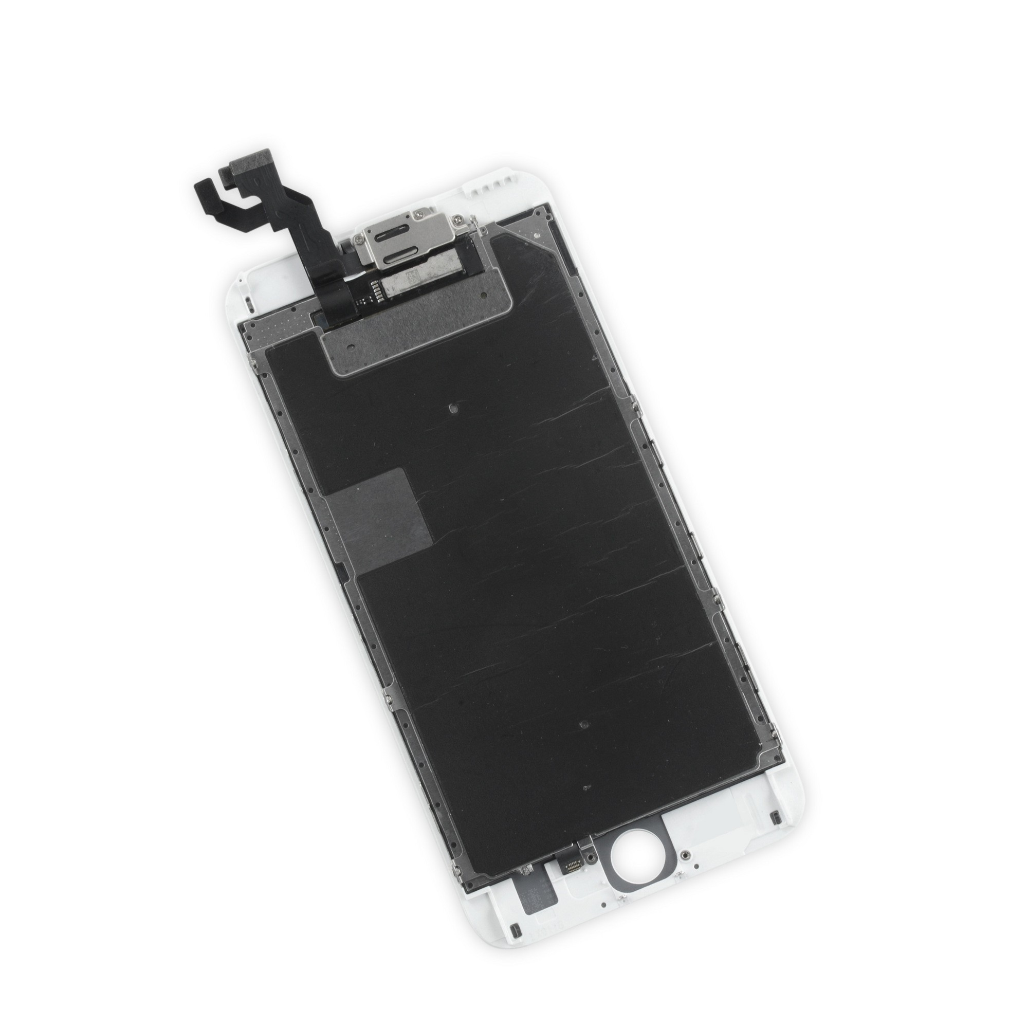 iFixit iPhone 6s Plus LCD Screen and Digitizer Full Assembly, New - Premium - Part Only - White, IF315-038-2