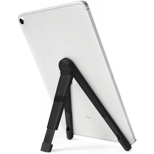 Twelve South - Compass Pro - Black - Metal Folding Stand For iPad