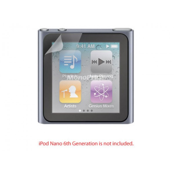 Screen Protective Film w/ Matte Finish for iPod Nano 6th Generation, N6-8330