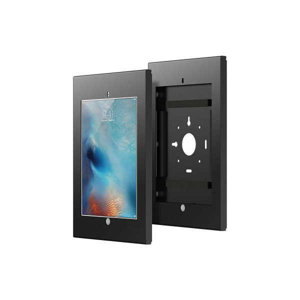 Monoprice Safe and Secure Wall Enclosure / Wall Mount for 12.9-inch iPad Pro - Black, 16066