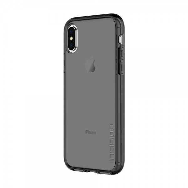 Incipio Octane Pure Translucent Co-Molded Case for iPhone X - Smoke, IPH-1638-SMK