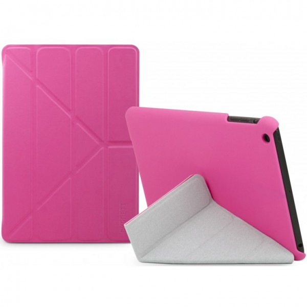**DISCONTINUED** Cygnett Enigma Folding Case with Stand For iPad Mini - Pink, CY0969CIENI