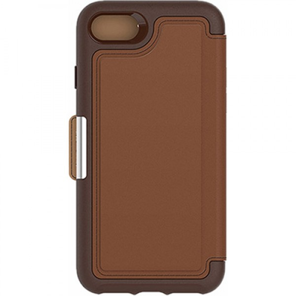 Otter Box Strada Case for iPhone 8/7 - Burnt Saddle (Brown), 77-53973