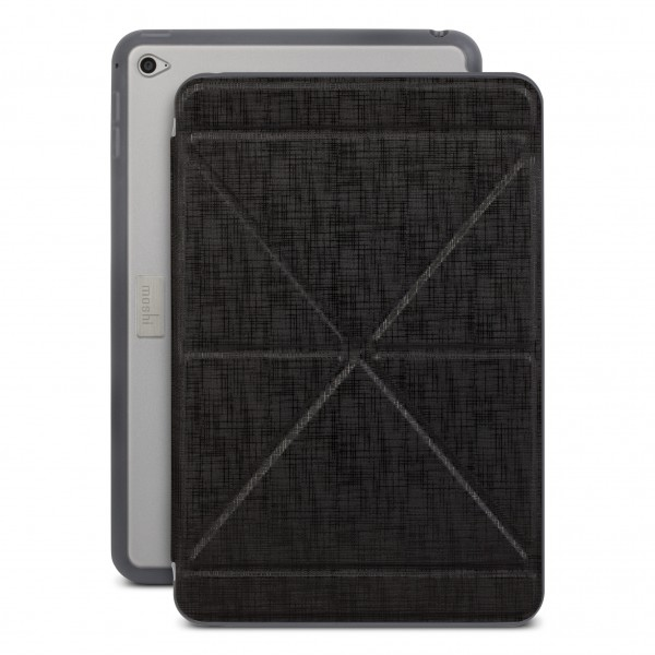Moshi VersaCover Stand Case for iPad mini 4 - Black, 99MO064001