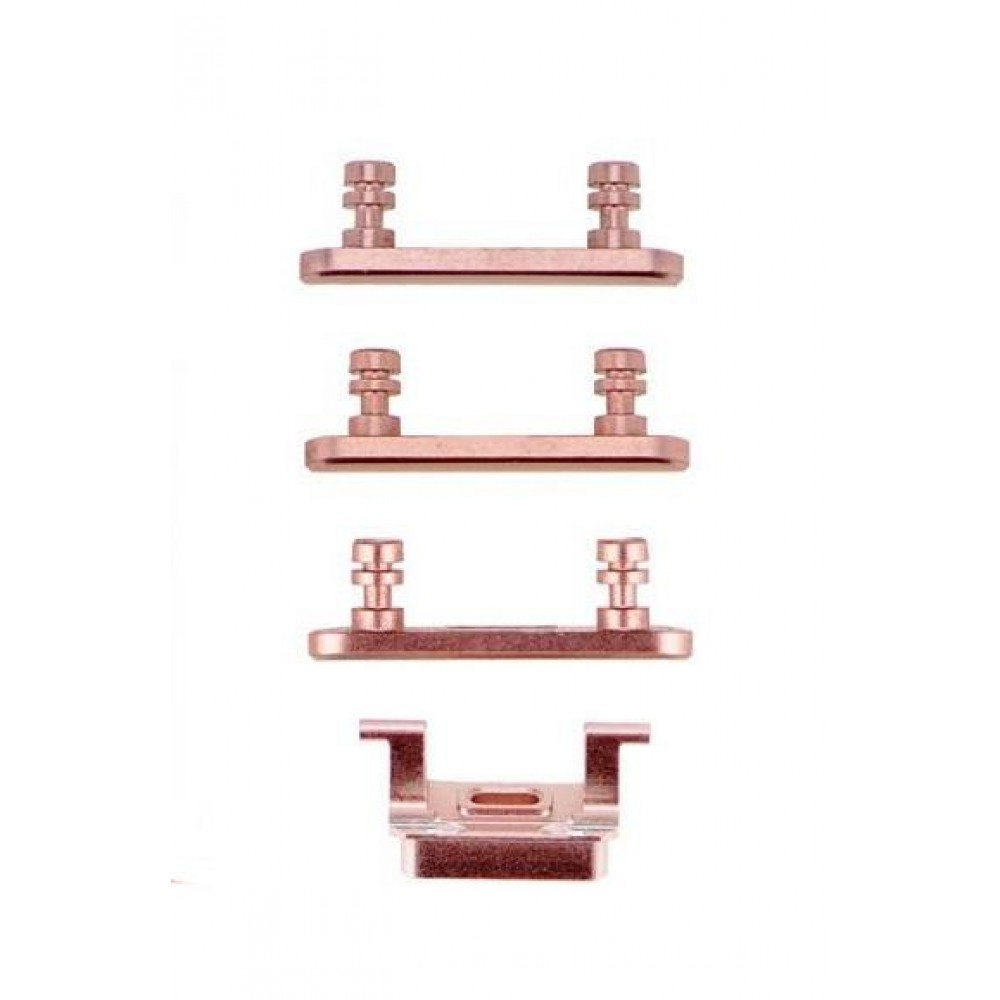 iPhone 7 Plus Side Key Buttons - Rose Gold, I7B-022