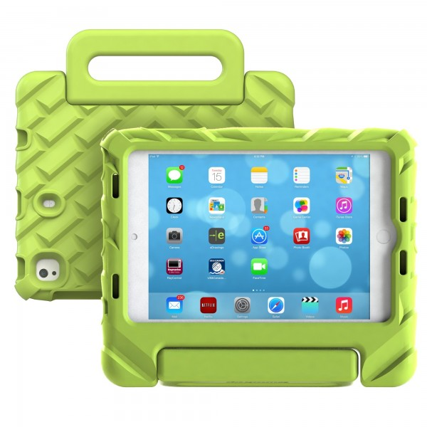 Gumdrop FoamTech for Apple iPad Mini 4, 5 Case - Lime, 15GD-APP-FT-IPADMINI4-LME