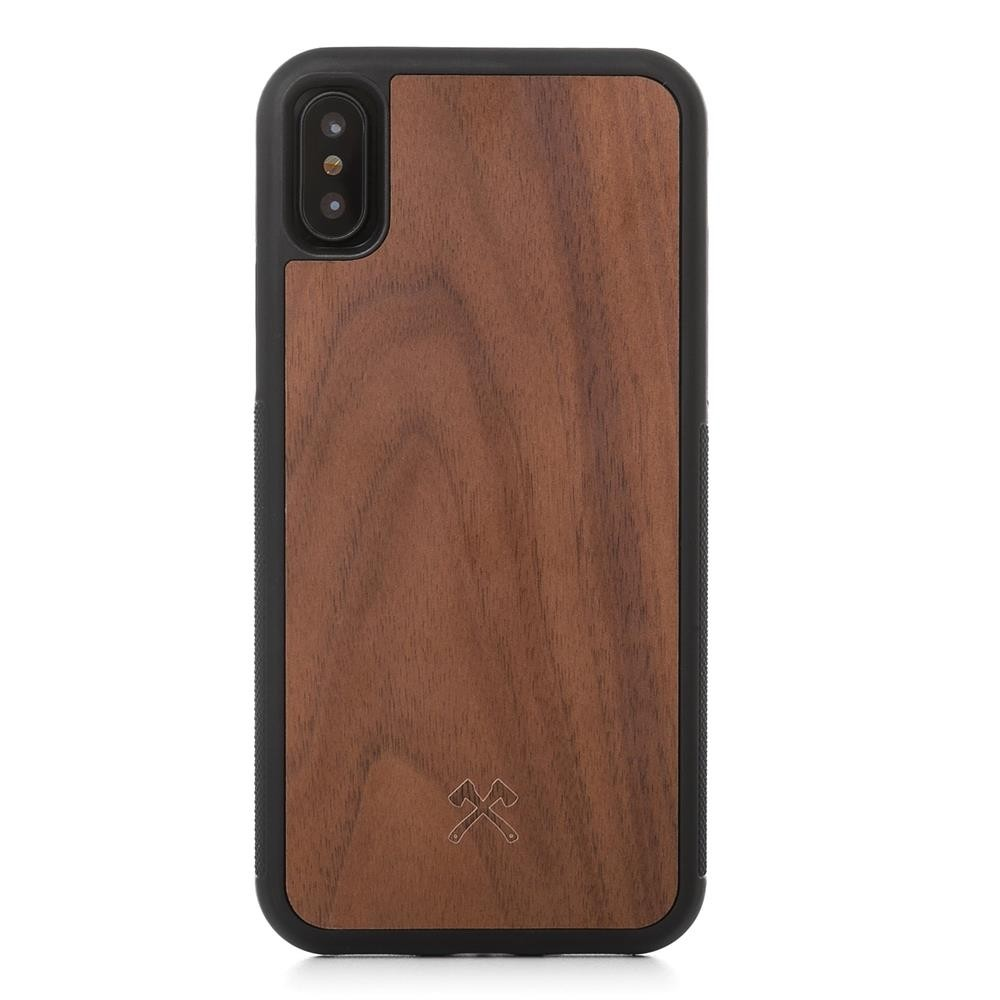 Woodcessories EcoCase Bumper Case for iPhone X/XS - Walnut, eco225