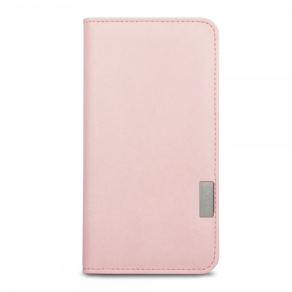 Moshi Overture Wallet Case for iPhone 8/7 - Daisy Pink, 99MO091301