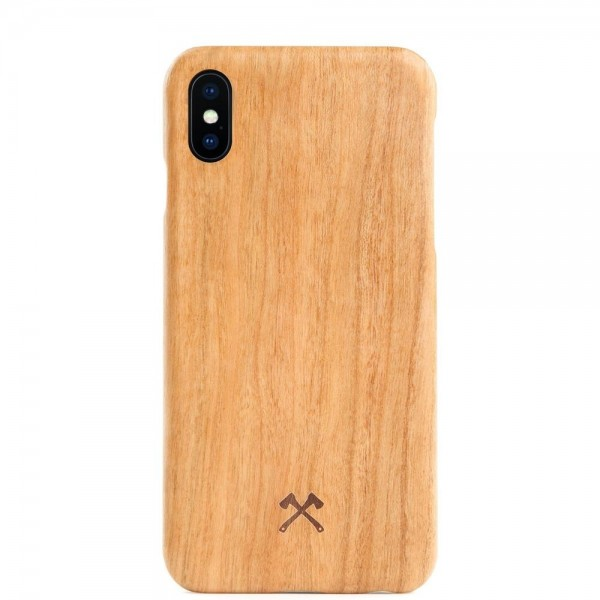 Woodcessories EcoCase Slim for iPhone X/XS - Cherry, eco210