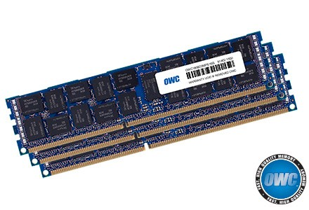 96.0GB (3 x 32GB) Mac Pro Late 2013 Memory Matched Set PC3-10600 1333MHz DDR3 ECC-R SDRAM Modules, OWC1333D3Z3M096