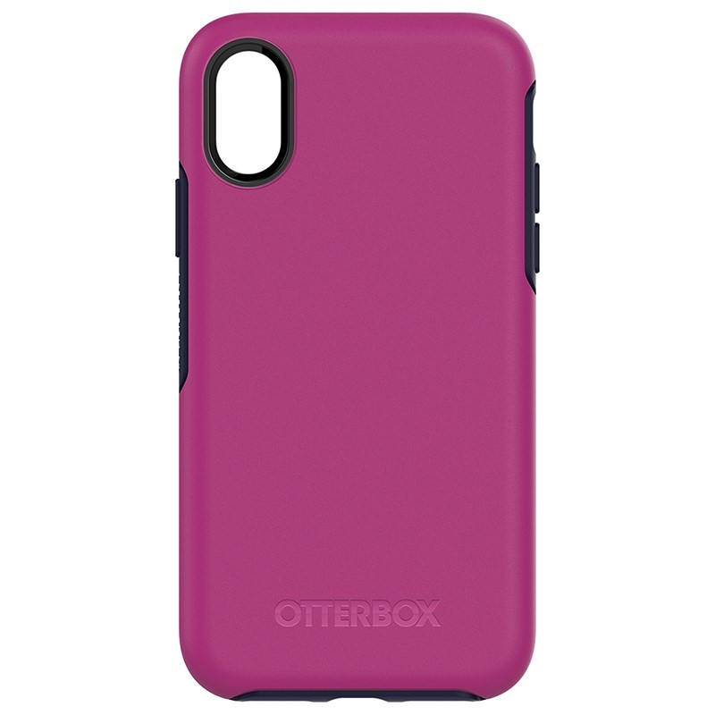 OtterBox Symmetry Series Case Suits for iPhone X - Mix Berry Jam, 77-57083