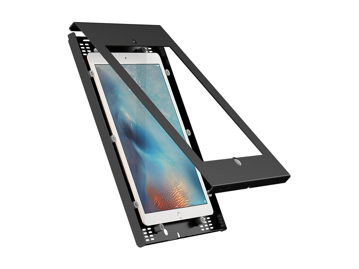 Monoprice Safe and Secure Enclosure for all 9.7-inch iPad - Black, 16065