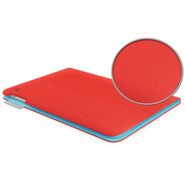 Logitech Folio Protective Case for iPad Air - Mars Red/Orange, LOG-IPD5-FOL-RD