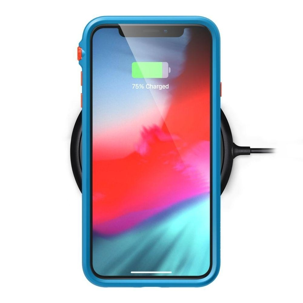 Catalyst Impact Protection Case for iPhone Xs Max - Orange/Blue, CATDRPHXTBFCL