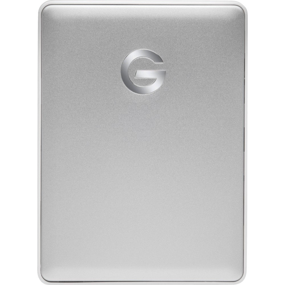 G-Technology 4TB G-DRIVE mobile USB 3.1 Gen 1 Type-C External Hard Drive - Silver, GT0G10348