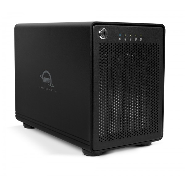 64TB OWC ThunderBay 4, four-drive HDD with dual Thunderbolt 2 ports, RAID 5 Solution, OWCTB2SRT64.0S