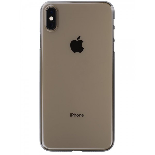 Power Support Air Jacket for iPhone XS Max - Clear Black, PUC-73