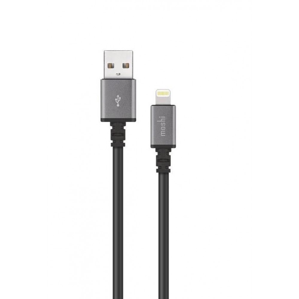 Moshi USB Cable with Lightning Connector (3 m) - Black, 99MO023046