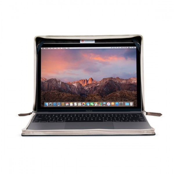 "Twelve South BookBook Vol 2 for MacBook 12"" Retina - Brown, 12-1712"