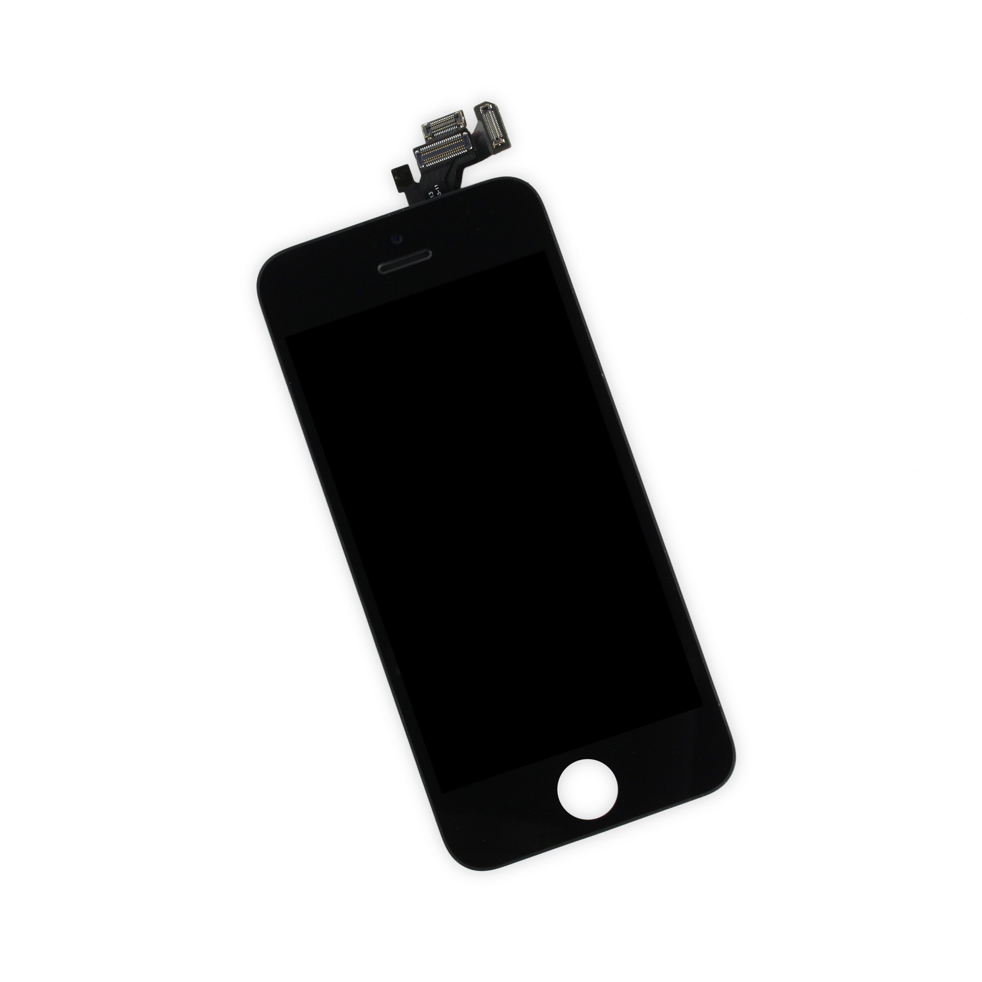 iFixit iPhone 5 LCD Screen and Digitizer Full Assembly, New, Part Only - Black, IF118-028-1