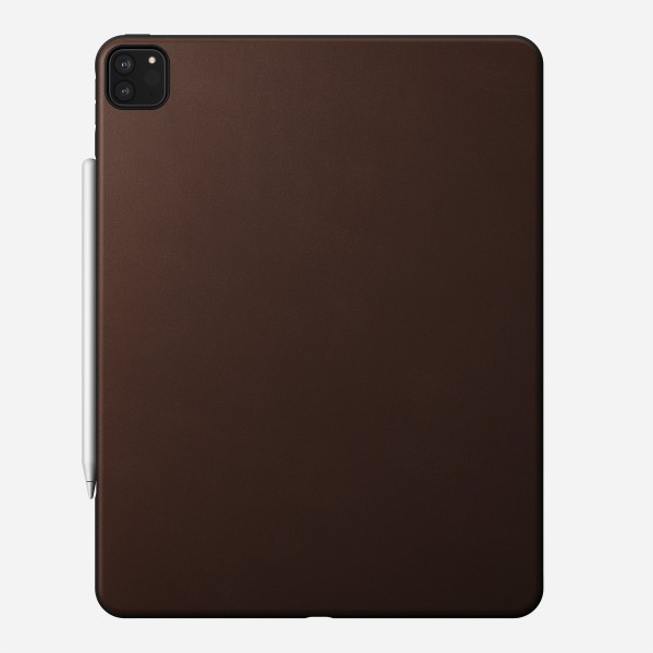 Nomad - Rugged Case - iPad Pro 12.9 (4th Gen) - Leather - Brown, NM2ICR0I00