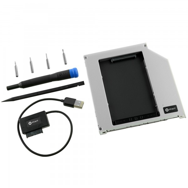 **DISCONTINUED** iFixit Macbook Pro and Macbook Unibody Laptop Dual Drive Upgrade Kit, IF107-080-4